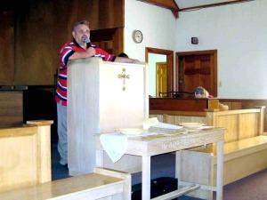 BBT 2010 HOMECOMING Pastor David Preaches 091210